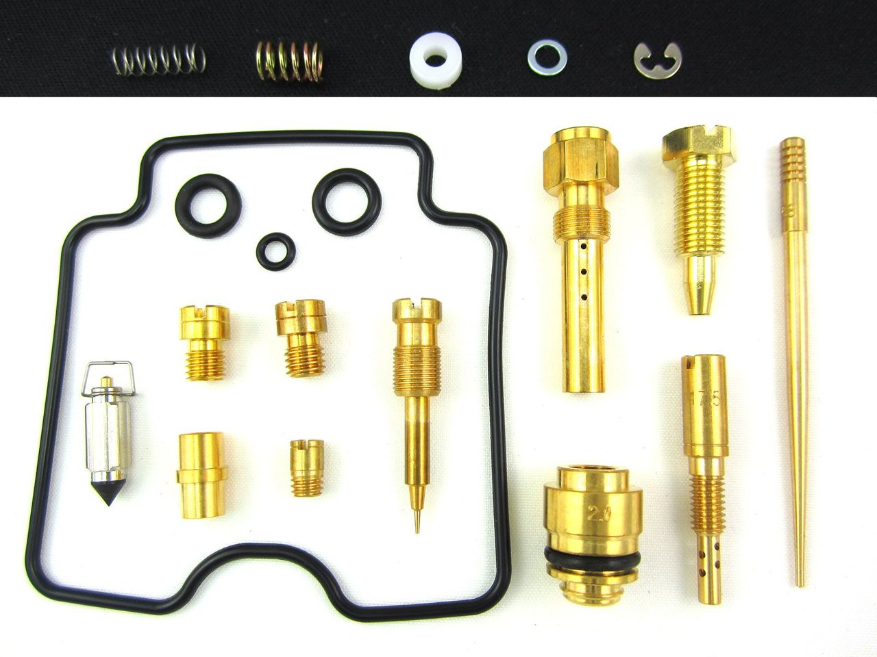 New Carburetor Rebuild Kit For Kawasaki KLF 250 A Bayou 03-06