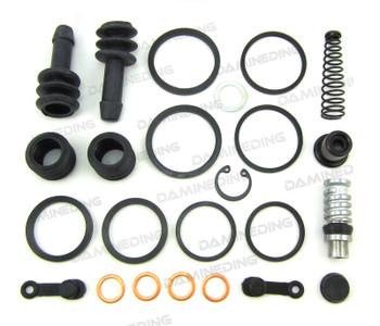 Brake Master Cylinder + Caliper Rebuild Kit 91-93 GSX1100
