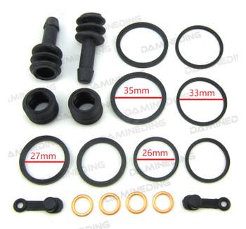 Front Caliper Repair Kit 91-93 GSX1100 94-06 ZG1000A  for 18-3120