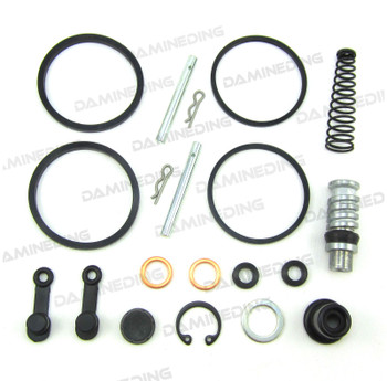 Brake Master Cylinder plus Caliper Rebuild Kit 93-09 VS800GL