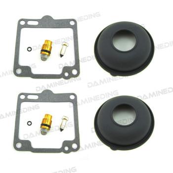 2X Carb Rebuild Kit  XV750  XV1100 Virago Rubber plug with Diaphragm