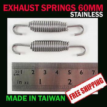 60mm Exhaust spring Pipe Muffler Springs Swivel 60mm Motorcycle
