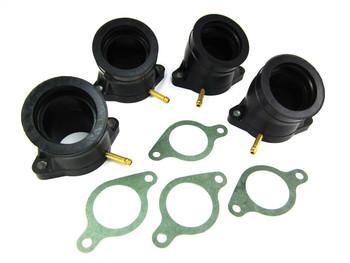 78-82 Yamaha carb carburetor INTAKE MANIFOLD RUBBER BOOTS xs1100 oem kit XS 1100