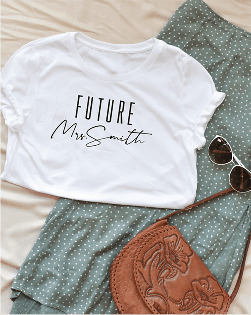 Future Mrs. Personalized Tee