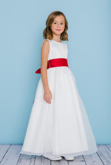 Rosebud Flowergirl Dress 5101
