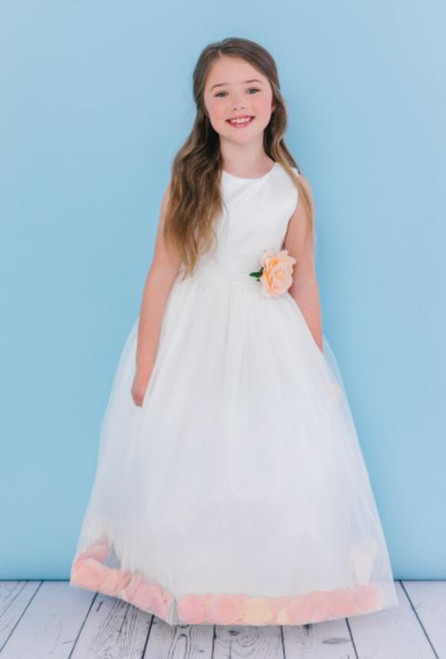 Rosebud Flowergirl Dress 5102