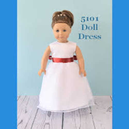 Rosebud Doll Dress 5101