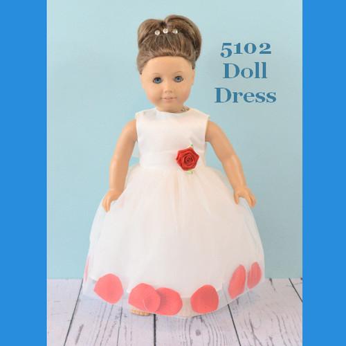 Rosebud Doll Dress 5102