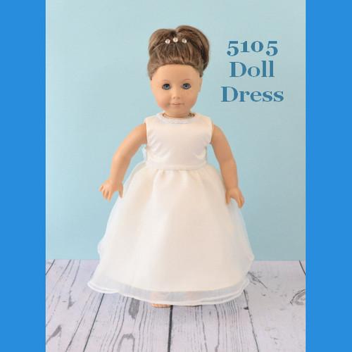 Rosebud Doll Dress 5105