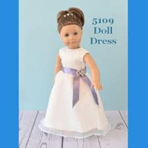 Rosebud Doll Dress 5109