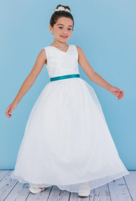 Rosebud Flowergirl Dress 5111 | Affairs by Brittany