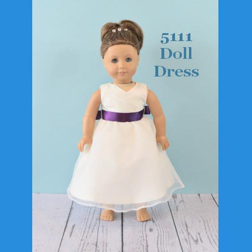 Rosebud Doll Dress 5111