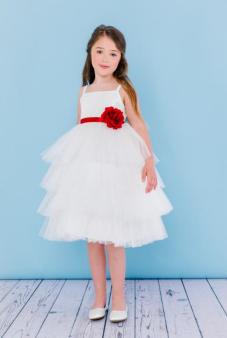 Rosebud Flowergirl Dress 5117