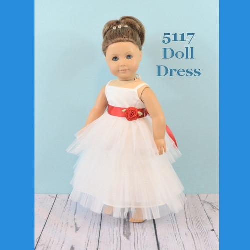 Rosebud Doll Dress 5117