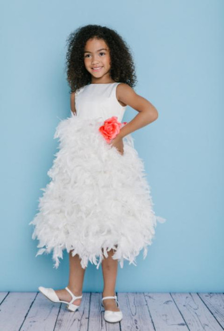 Rosebud Flowergirl Dress 5120