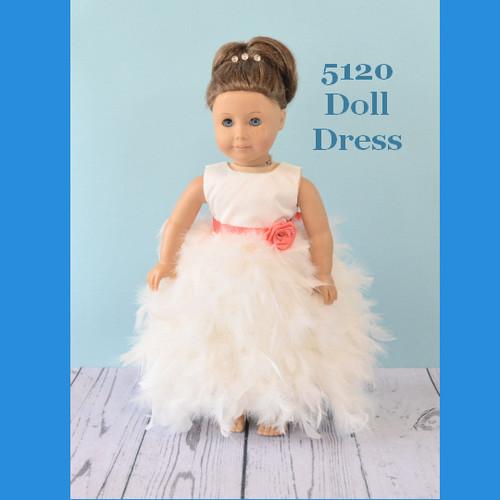 Rosebud Doll Dress 5120