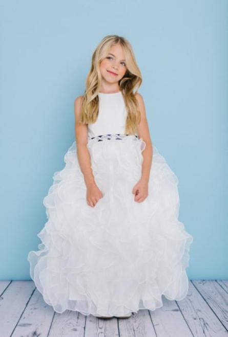Rosebud Flowergirl Dress 5122