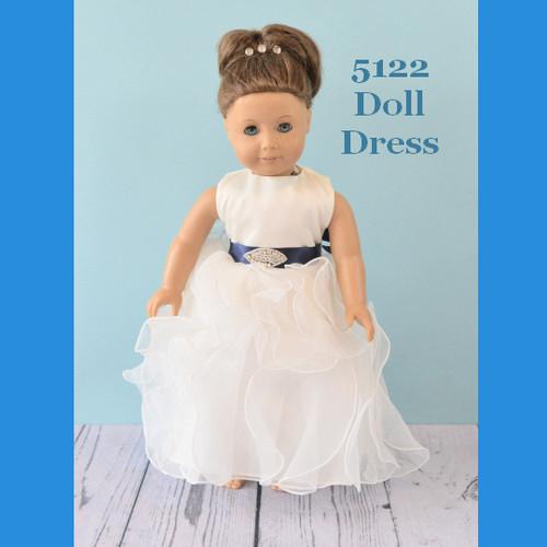 Rosebud Doll Dress 5122