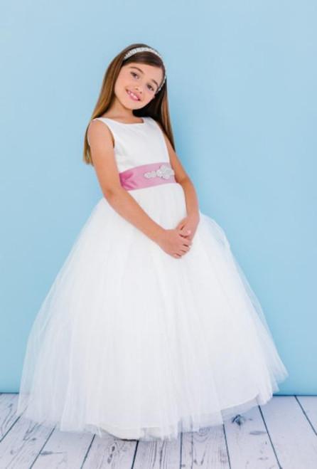 Rosebud Flowergirl Dress 5123