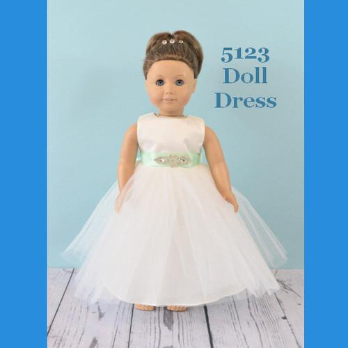 Rosebud Doll Dress 5123