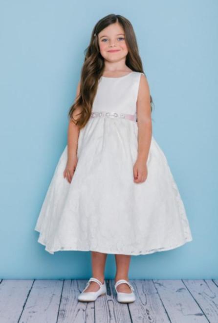 Rosebud Flowergirl Dress 5124