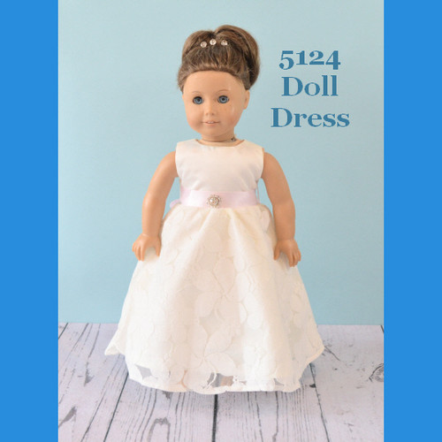 Rosebud Doll Dress 5124