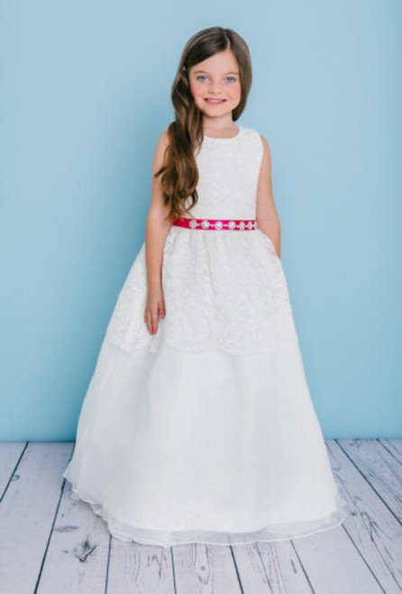 Rosebud Flowergirl Dress 5125