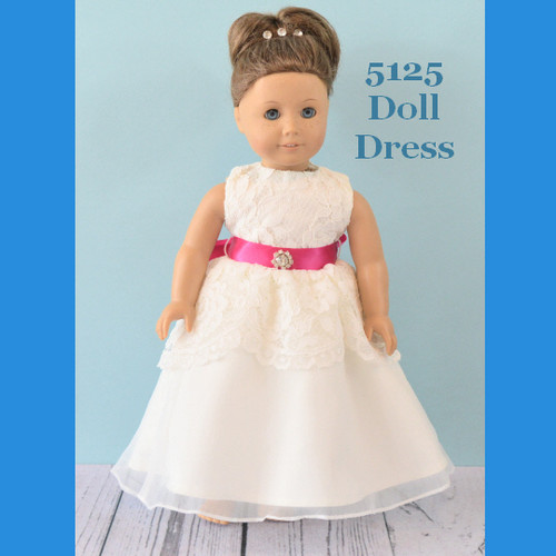 Rosebud Doll Dress 5125