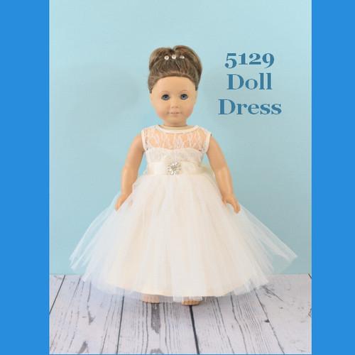 Rosebud Doll Dress 5129