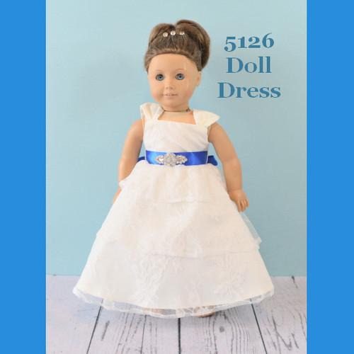 Rosebud Doll Dress 5126