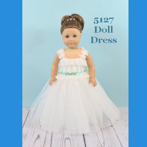 Rosebud Doll Dress 5127