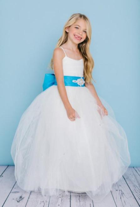 Rosebud Flowergirl Dress 5130
