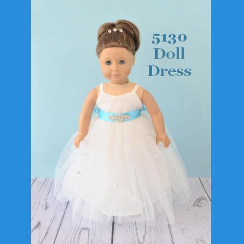 Rosebud Doll Dress 5130