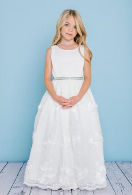 Rosebud Flowergirl Dress 5128