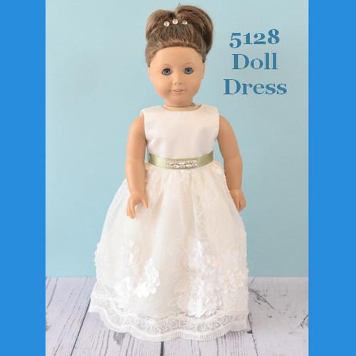 Rosebud Doll Dress 5128