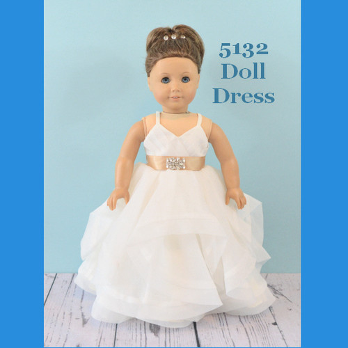 Rosebud Doll Dress 5132