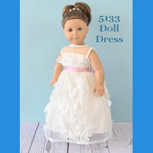 Rosebud Doll Dress 5133