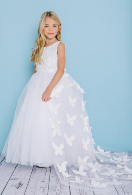 Rosebud  Flowergirl Dress 5134