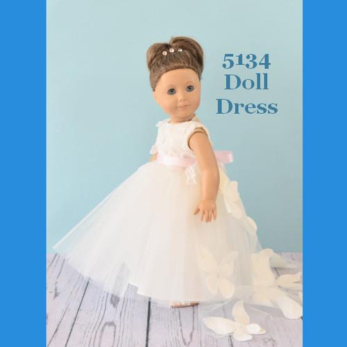 Rosebud Doll Dress 5134