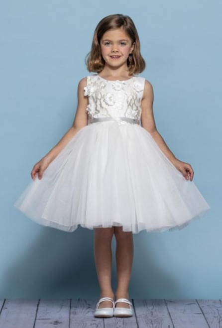 Rosebud Flowergirl Dress 5135