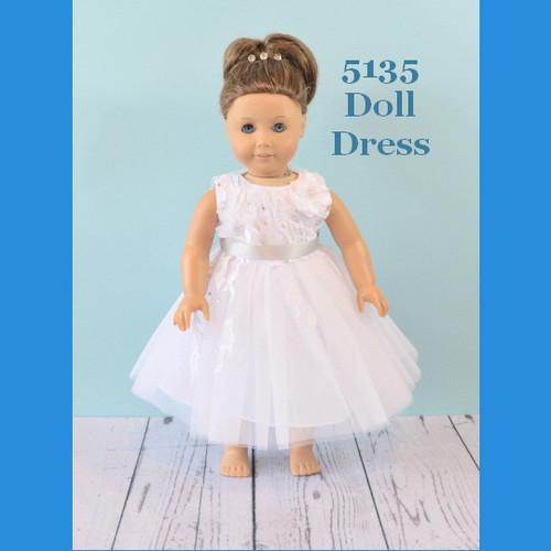 Rosebud Doll Dress 5135
