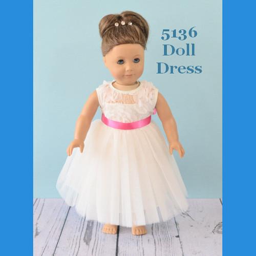 Rosebud Doll Dress 5136