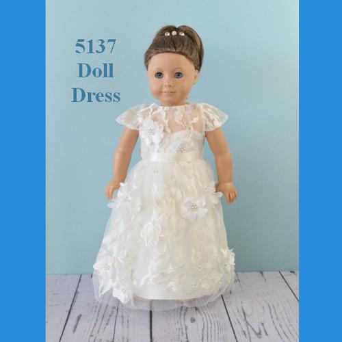 Rosebud Doll Dress 5137