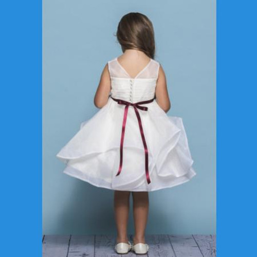 Rosebud Flowergirl Dress 5138
