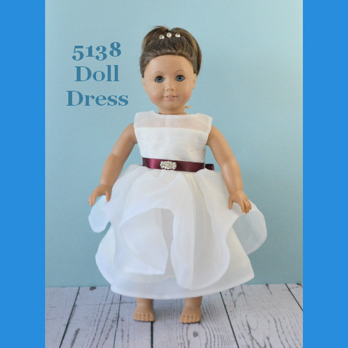 Rosebud Doll Dress 5138