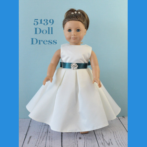 Rosebud Doll Dress 5139