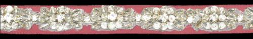 Beaded Belt 1638