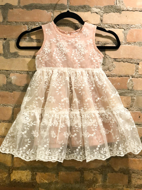 Size 4T | Private Label | Lace Overlay