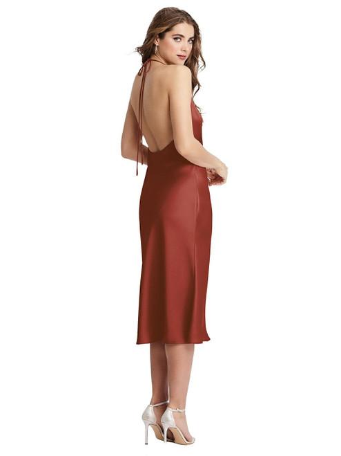 Piper | Cowl-Neck Convertible Midi Slip Dress