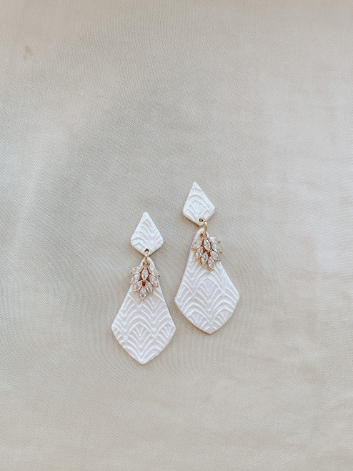 Clay & Fern Co Drop Clay Earrings